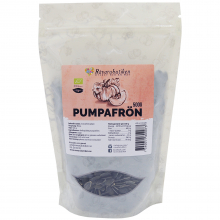 Pumpafrön, raw & eko, 500g