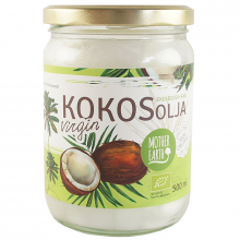 Kokosolja Virgin RAW, Eko 500ml (Mother Earth®)