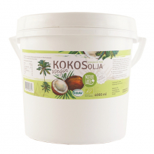 Kokosolja virgin RAW&EKO 4000 ml