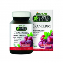 Cranberry 12000 mg 60 kap Lifeplan