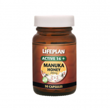 Manuka Honey 16+ 30kap Lifeplan
