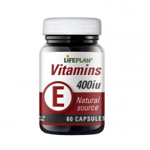 Vitamin E 400IE 60 kap Lifeplan