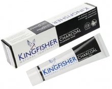 Kingfisher tandkräm Whitening Charcoal 100ml