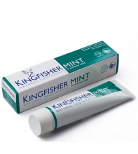 Kingfisher tandkräm mint med fluor 100ml