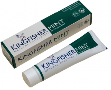 Kingfisher tandkräm mint utan fluor 100ml