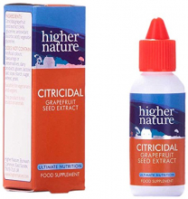 Citricidal 34% 25 ml Higher Nature