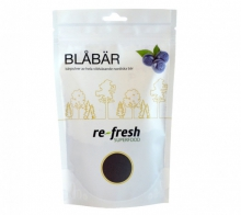 Blåbärspulver  Re-fresh Superfood 125 g