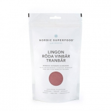 NORDIC SUPERFOOD RED - Lingon, Tranbär & Röda vinbär, 175 g