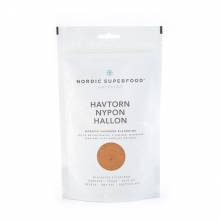 NORDIC SUPERFOOD YELLOW - Havtorn Nypon & Hallon, 175g