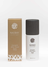 Naobay Energetic After Shave Balm For Men, eko, 100ml