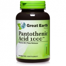 Pantothenic Acid 1000, 90 tabl