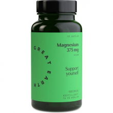 Super Magnesium 375 mg, 60 kaps, Vegan